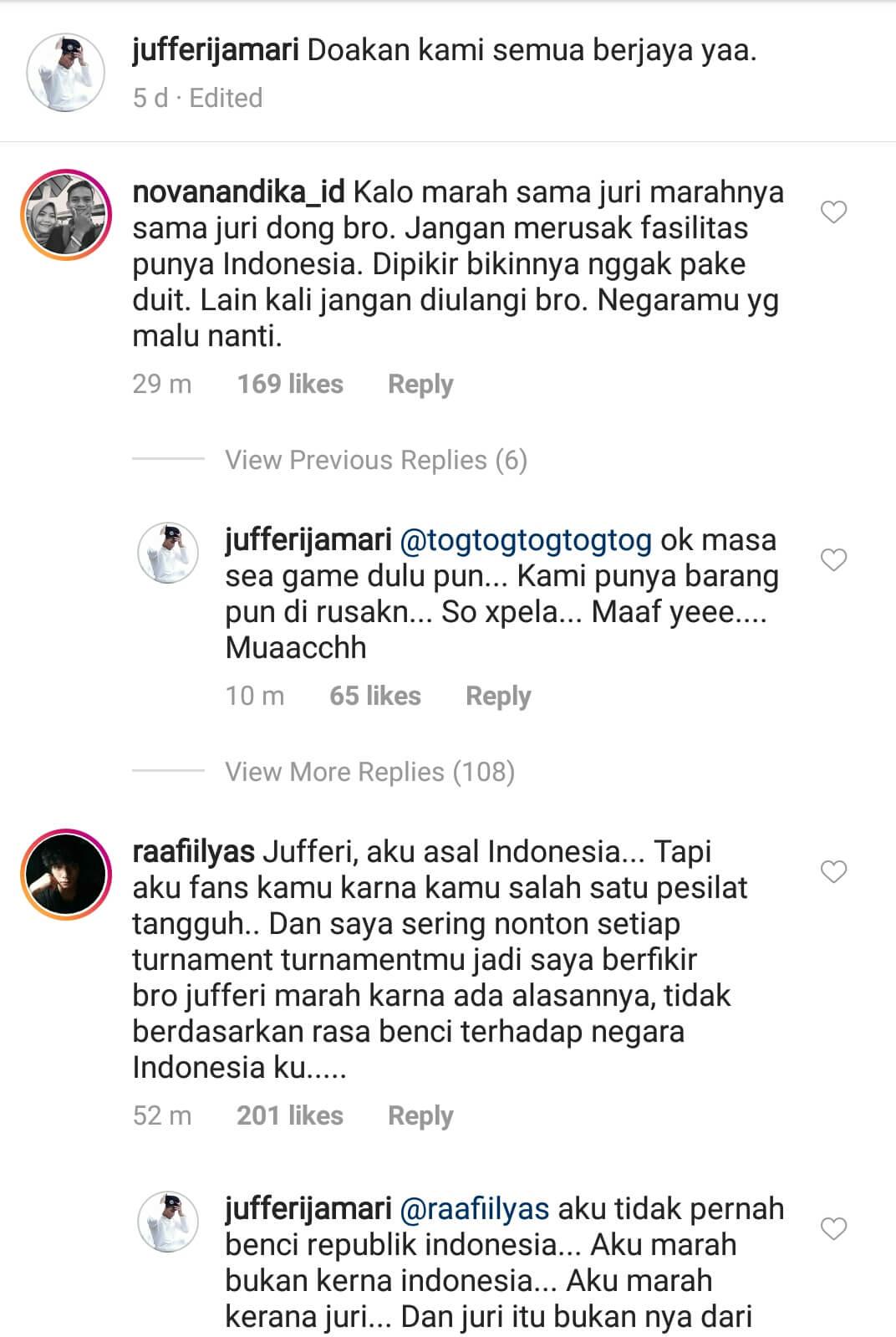 Instagram Al Jufferi Jamari