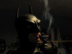 larangan merokok batman